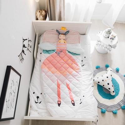 2018新品40匹马棉睡袋(70*150cm) 公主