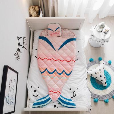 2018新品40匹马棉睡袋(70*150cm) 美人鱼