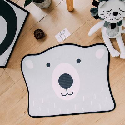 2018新品可爱小门垫 60*45cm ins熊