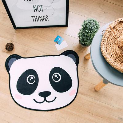 2018新品可爱小门垫 60*45cm 熊猫