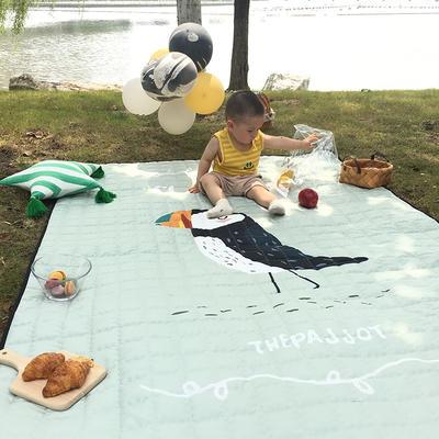 2018新款防水地垫 140*200 大嘴鸟