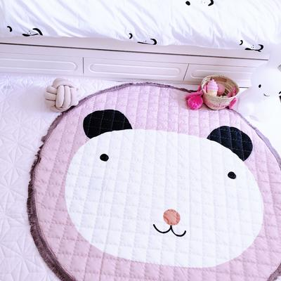 2018圆地垫1 直径140 熊猫