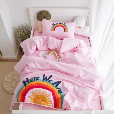 2019新款COOL系列三件套 1.2m三件套床单款 彩虹
