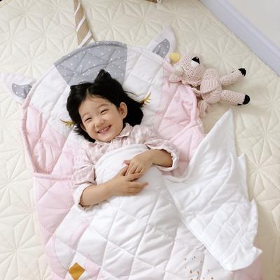 2019新款造型睡袋模特图(70*150) 独角兽睡袋