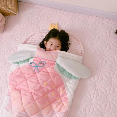 2019新款造型睡袋模特图(70*150) 公主