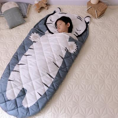 2019新款造型睡袋模特图(70*150) 老虎