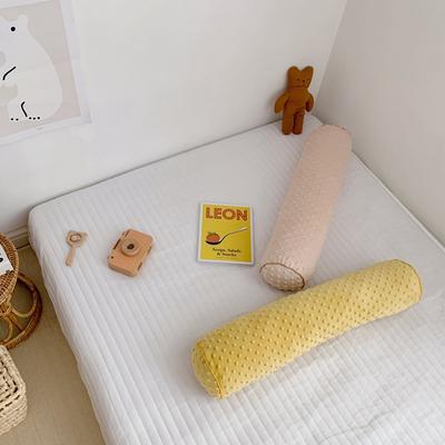 2019新款豆豆圆柱形/抱枕/床围/墙挡 小号:直径14厘米/长度65厘米 玉色