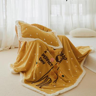 2019新款Sunshine-阳光单被套毯 S:120*150 长颈鹿