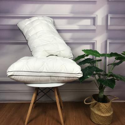 仿生羽絨枕  枕頭枕芯 仿生羽絨枕48×74cm/只