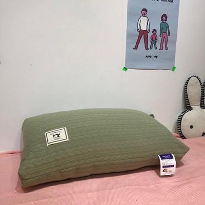 2019新款日系针织枕 48×74cm 绿