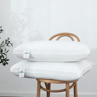 2019新款60S柏拉圖酒店枕(48×74cm) 低枕(睡下高度:4-6cm)/只