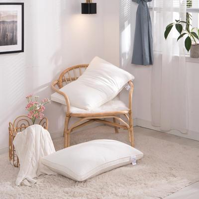 牛奶蛋白牛奶润肤枕(48×74cm)牛奶丝润肤枕20厘米2019新款 牛奶润肤枕20厘米(睡下约6-8cm)