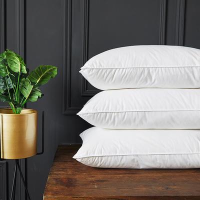 (總)2020新款賽羽絨酒店枕枕頭枕芯護頸椎 柔軟款