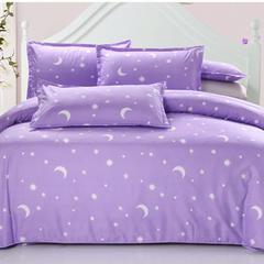 钻石绒四件套 1.2床 三件套 星月紫