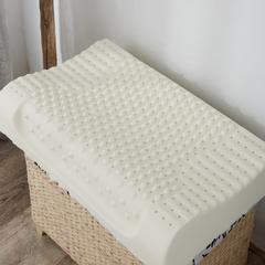 颗粒按摩乳胶枕乳胶枕芯(天鹅绒枕套,含内外套)(60x40x12/10) 颗粒按摩乳胶枕乳胶枕芯