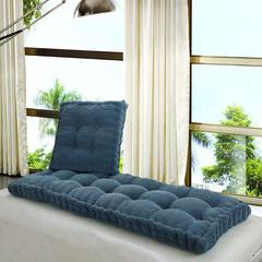 2018新款榻榻米飘窗垫沙发垫 55*55cm(方)(个) 牛仔蓝