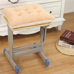 2018新款羊羔绒学生椅垫 24*36cm(个) 驼白色