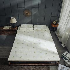 2018新款泰国进口乳胶床垫 90×200×5cm 白色