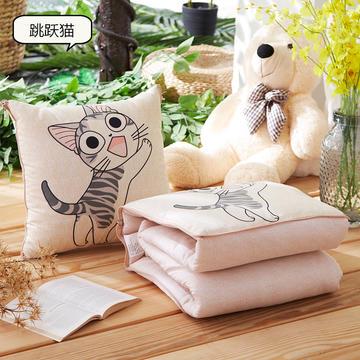 ABC抱枕被三个尺寸 磨毛数码印花抱枕被子两用靠枕被靠垫被午休被空调被