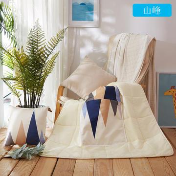 ABC抱枕被  水洗冰丝数码印花抱枕被子两用靠枕被靠垫被午休被空调被