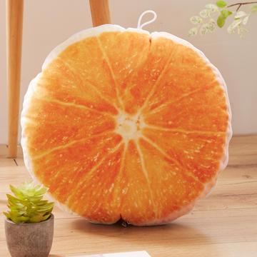 水果抱枕靠垫 圆形抱枕被两用靠垫被子办公室午睡空调被