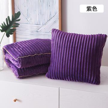 魔法绒抱枕被靠垫 多功能抱枕被子两用空调被汽车靠枕被办公室午睡枕