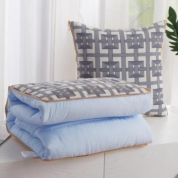 北欧抱枕靠垫多功能抱枕被两用被子办公室午睡空调被汽车靠枕被
