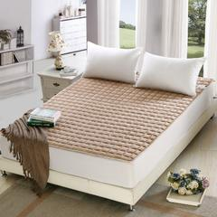 法兰绒面包床垫 90*200cm 米驼