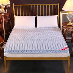 磨毛立体床垫榻榻米折叠防滑单双人床褥子学生宿舍 150*200cm 时尚圈点