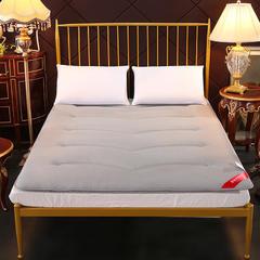 3D网眼床垫榻榻米加厚透气床褥垫被可折叠双人 90*200cm 灰色