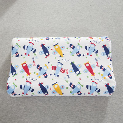 2019新款儿童乳胶枕 可爱小飞机(44*27cm)