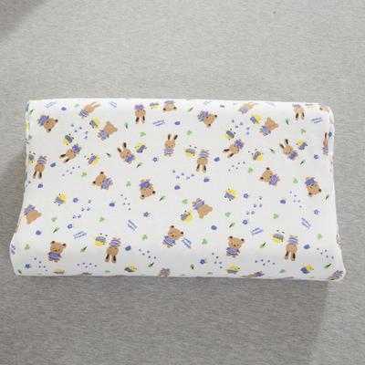 2019新款儿童乳胶枕 可爱小兔子(44*27cm)