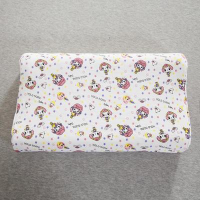 2019新款儿童乳胶枕 可爱小公主(35*57cm)