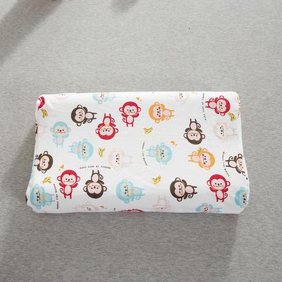 2019新款儿童乳胶枕 可爱小猴子(35*57cm)