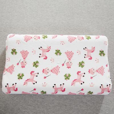 2019新款儿童乳胶枕 可爱小马  粉(35*57cm)