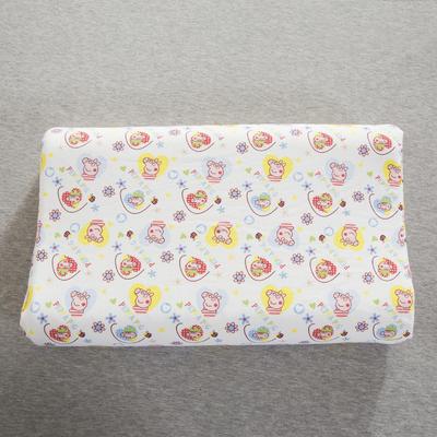 2019新款儿童乳胶枕 小猪配齐(35*57cm)