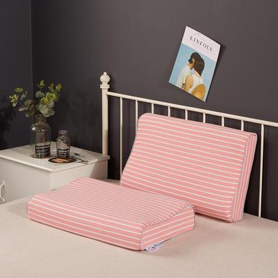 2019新款乳胶枕系列—纯棉水洗棉乳胶枕(40*60cm) 纯棉水洗粉大条(40*60cm)