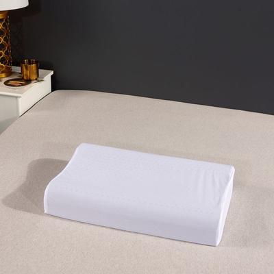 2019新款乳胶枕系列—石墨烯乳胶枕(40*60cm) 白(颗粒枕)