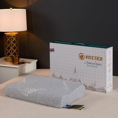 2019新款乳胶枕系列—石墨烯乳胶枕(40*60cm) 灰(石墨烯枕)