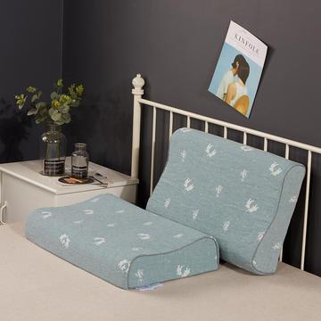 2020新款乳胶枕系列—双层纱乳胶枕(40*60cm)