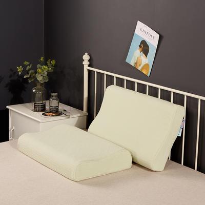 2019新款乳胶枕系列—针织乳胶枕(40*60cm) 针织黄绿色(40*60cm)