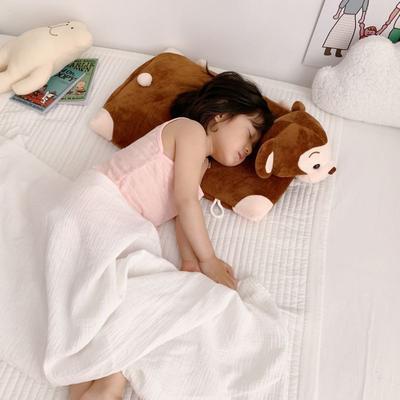 2019新款卡通动物乳胶枕芯含量95% 小猴60*40*5cm