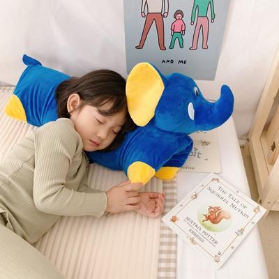 2019新款卡通动物乳胶枕芯含量95% 大象60*40*5cm