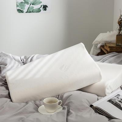 泰国乳胶枕含量95%曲线波浪枕 60*40*8/10乳白