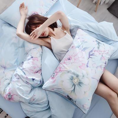 2019新款春夏天丝莫代尔四件套 1.8m床(床单款) 花仙瑶