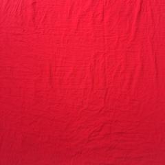 平纹水洗化纤色布 宽幅250cm 大红