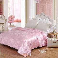 慧爱一生家纺 蚕丝被 200x230cm(4斤) 粉色