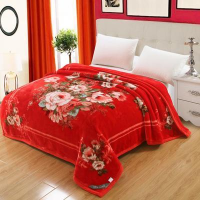 67844 超细柔时尚风情毯 200*230 3