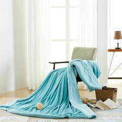 C先生 羊羔绒毛毯 150*200cm 薄荷兰