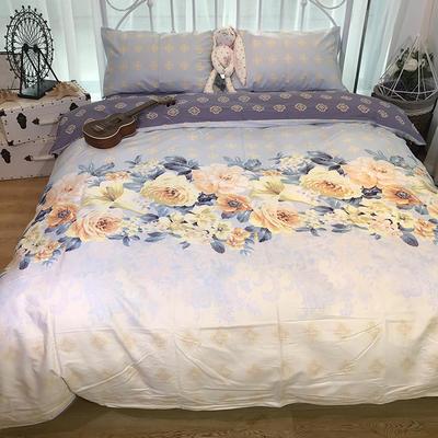 2018新款全棉13372四件套 1.8m(6英尺)床 浪漫伊人